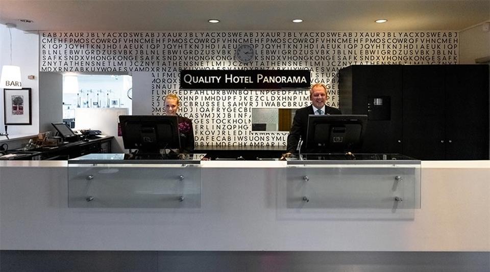 Quality Hotel Panorama (Trondheim) Reception