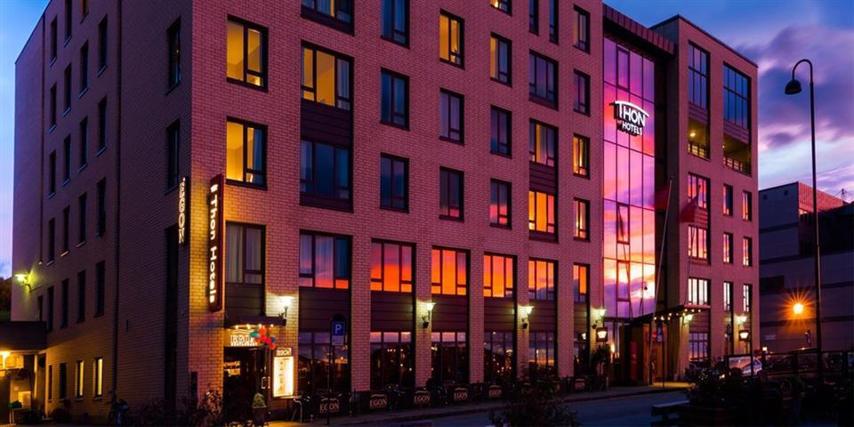 Thon Hotel Nordlys Fasad