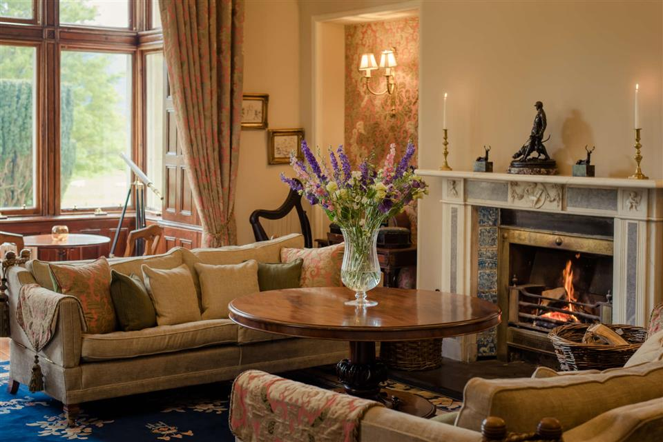 The Cahernane House Hotel Drawing Room