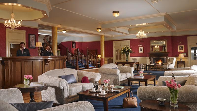 Knockranny House Hotel Reception