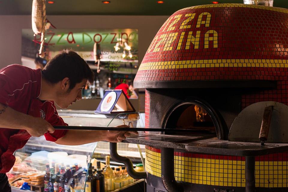 The Twelve Hotel pizza