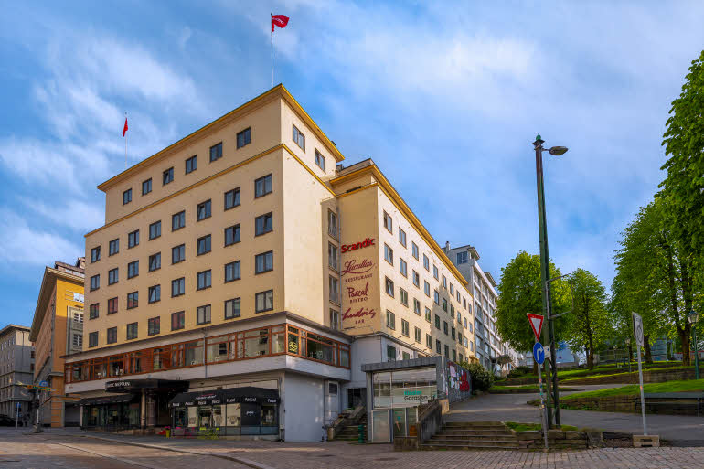 Scandic Neptun Hotell, Bergen Fasad
