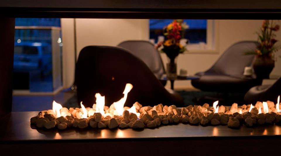 Quality Hotel Waterfront Ålesund Fireplace