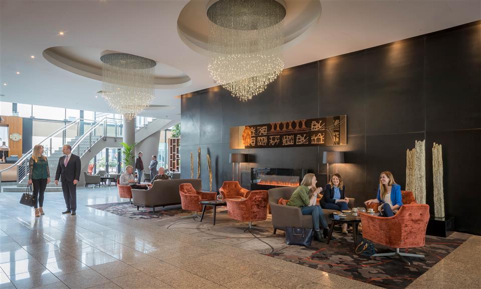 Clayton Whites Hotel reception