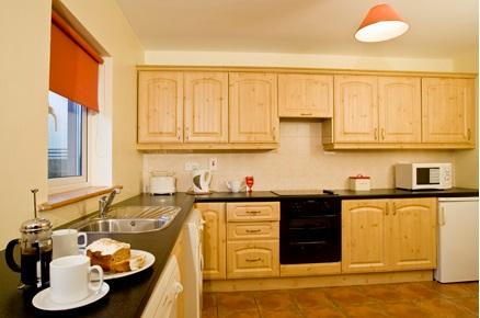 Seacliff Holiday Homes kitchen