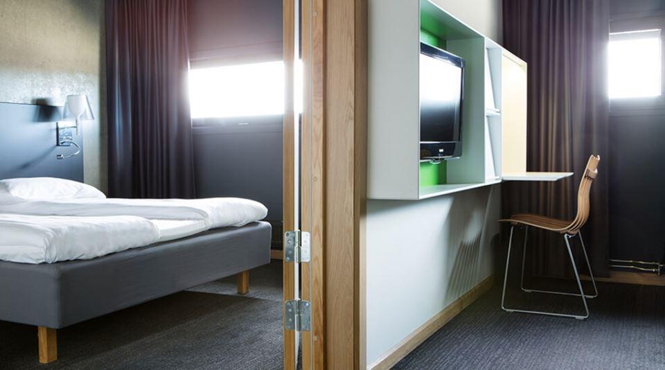 Comfort Hotel Runway Uppgraderat dubbelrum
