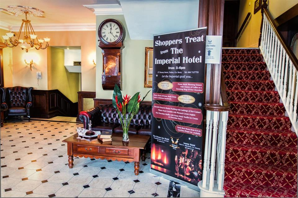 Imperial Hotel Tralee Reception