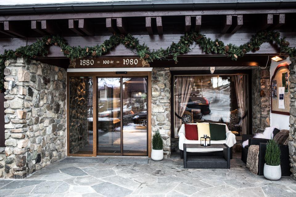 Geilo Hotel Fasad