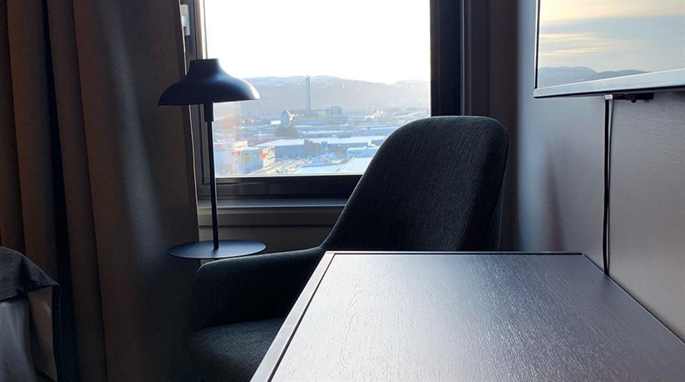 Quality Hotel Panorama (Trondheim) Utsikt från rum