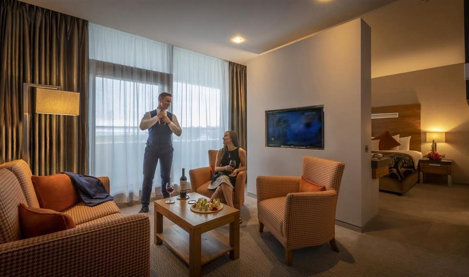 Clayton Hotel Galway bedroom suite