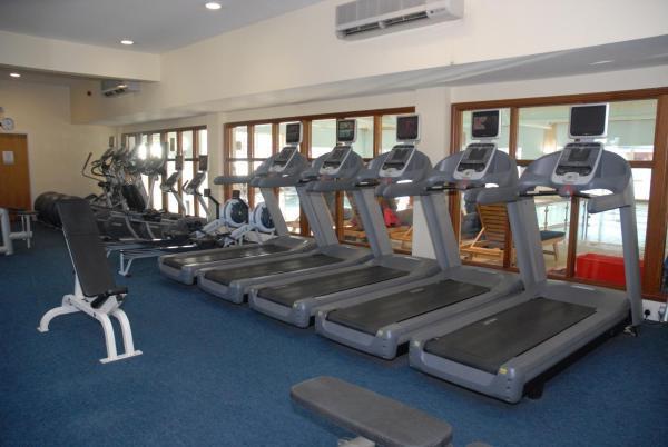 Auburn Lodge hotel gym