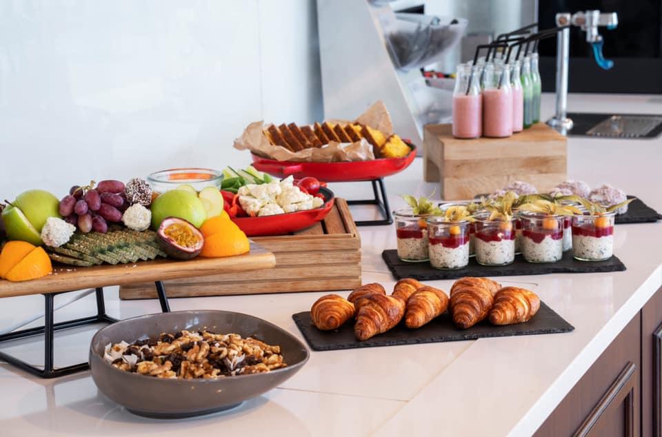 Thon Hotel Sandven Frukost