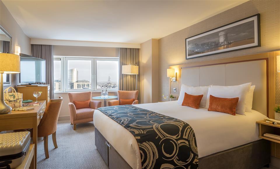 Clayton Hotel Limerick Superior Double Bedroom