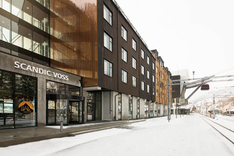 Scandic Voss Fasad