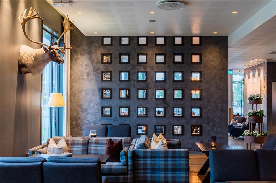 Quality Hotel Skifer Lobby