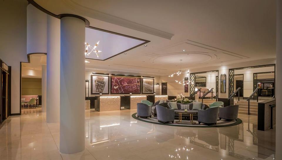 Conrad Hotel Lobby