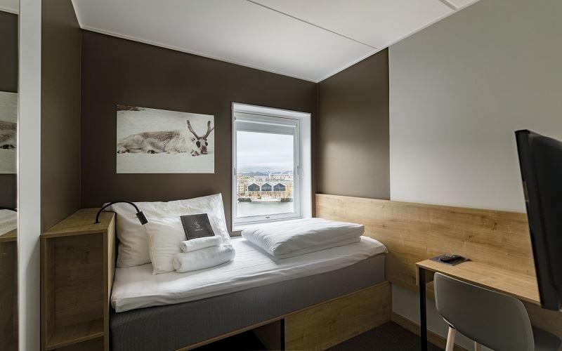 Smarthotel Hammerfest Hotellrum