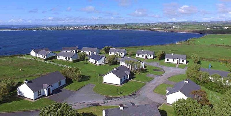 Quilty Holiday Cottages Ariel View