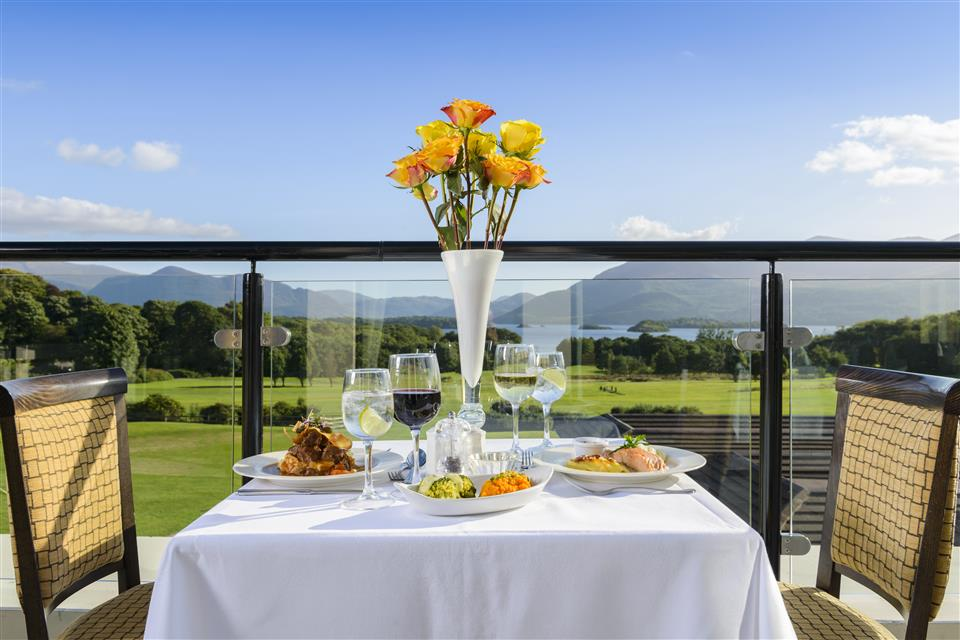 Castlerosse Park Resort Dining with view