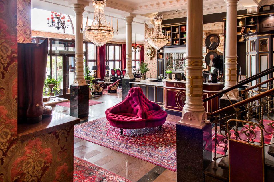 Hôtel Eggers Lobby