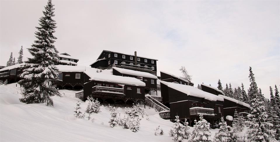 Kvitfjell Hotel AS Fasad