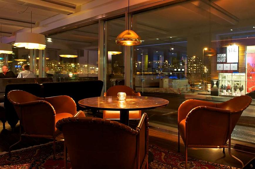 Best Western Plus John Bauer Hotel Bar lounge