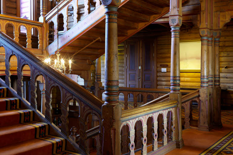 Scandic Holmenkollen Park Hotel Trappor