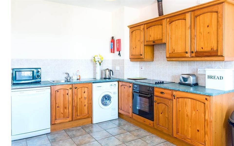 Atlantic Point Apartments kitchen