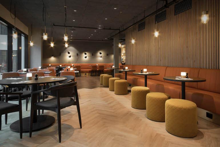 Scandic Sjølyst Restaurang Övervåning