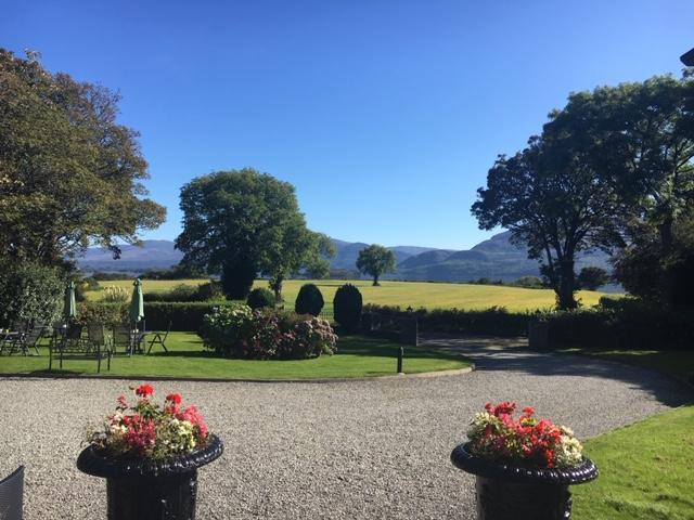 Loch Lein Country House garden view