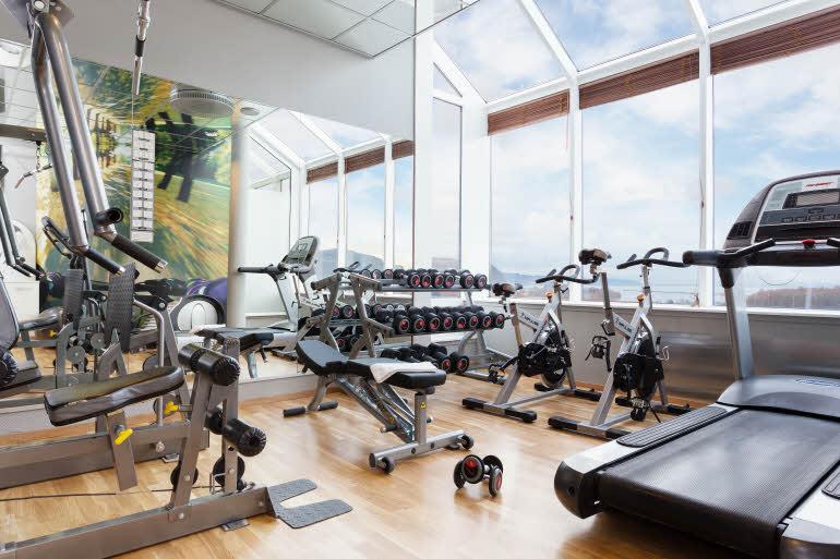 Scandic Hell Hotel Gym