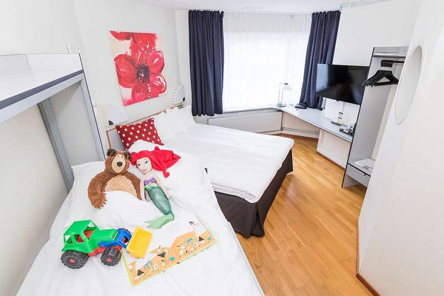 Best Western Eurostop Örebro Family Room