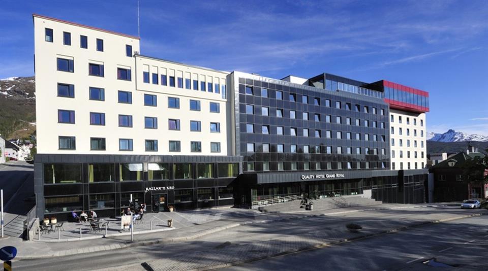 Quality Hotel Grand Royal Fasad