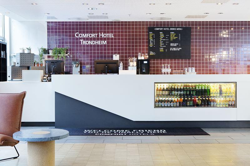 Comfort Hotel Trondheim Lobby