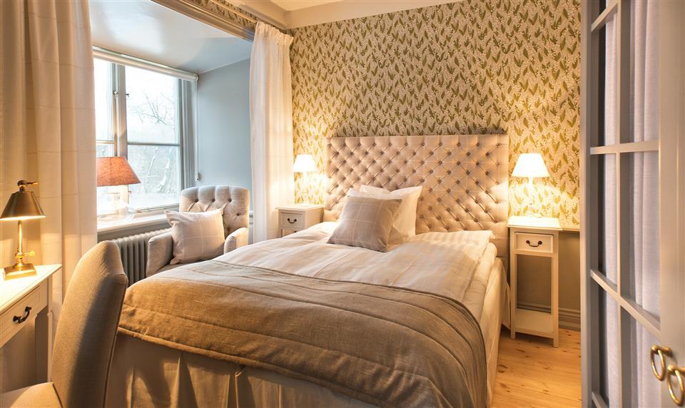 Hotellrum på Rosersbergs Slottshotell