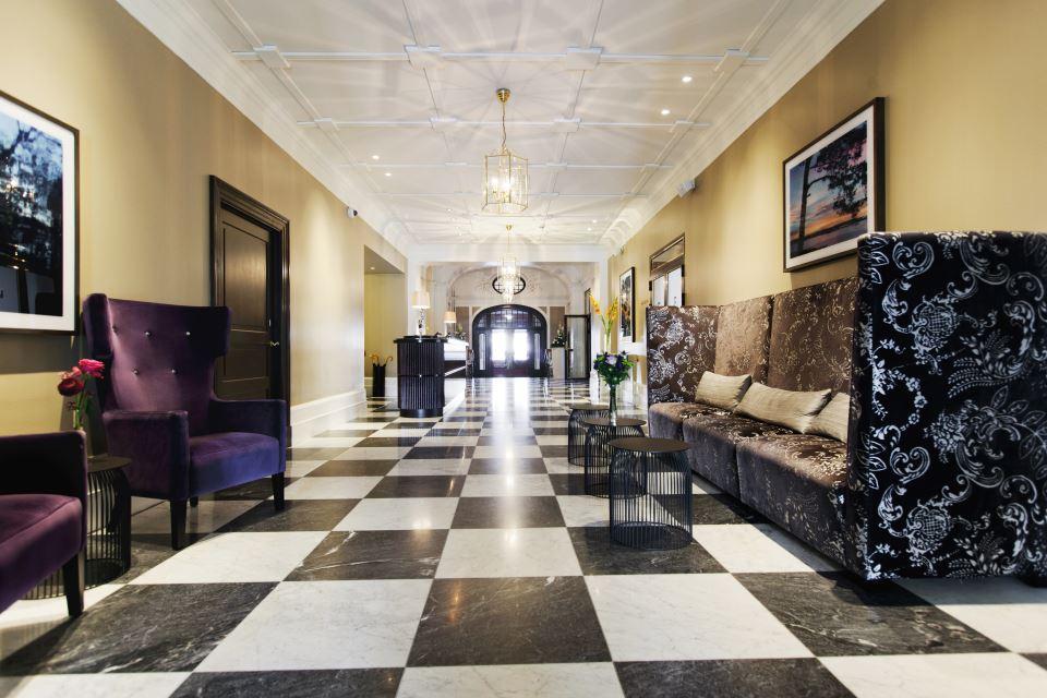Elite Grand Hotel Gävle Lobby