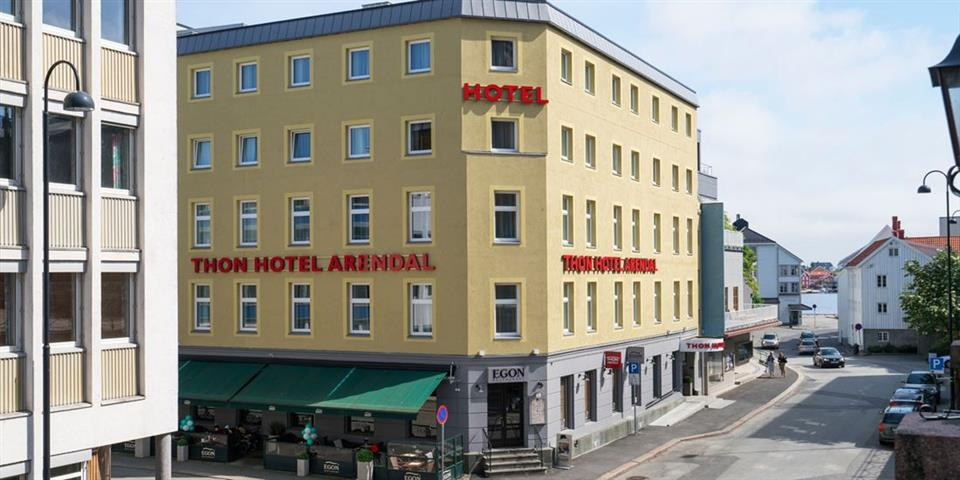 Thon Hotel Arendal Fasad