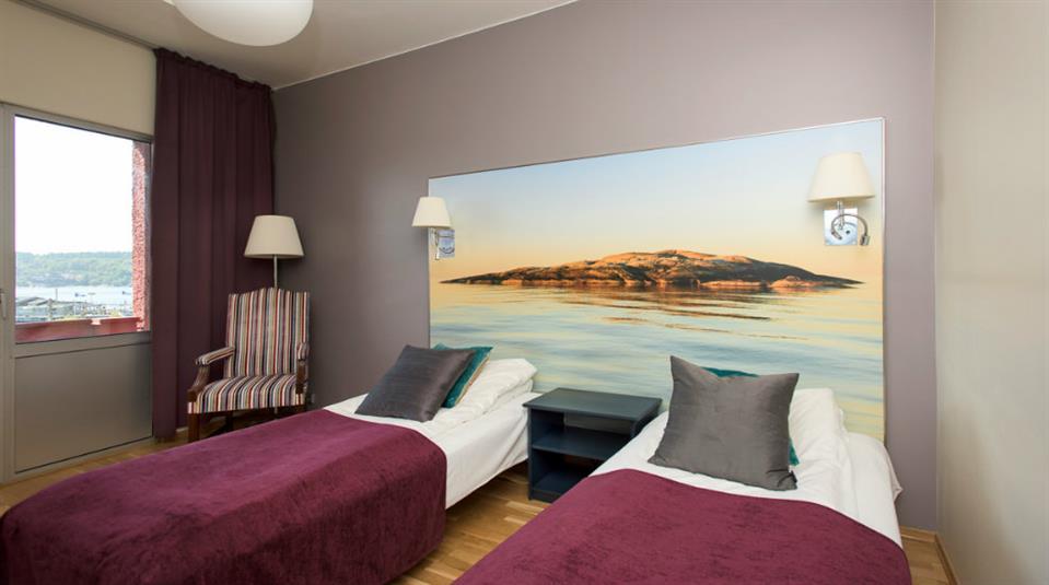 Quality Hotel Grand Farris Twin Room