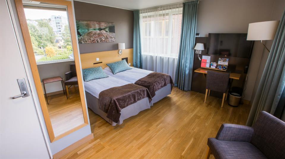 Quality Hotel Saga Dubbelrum
