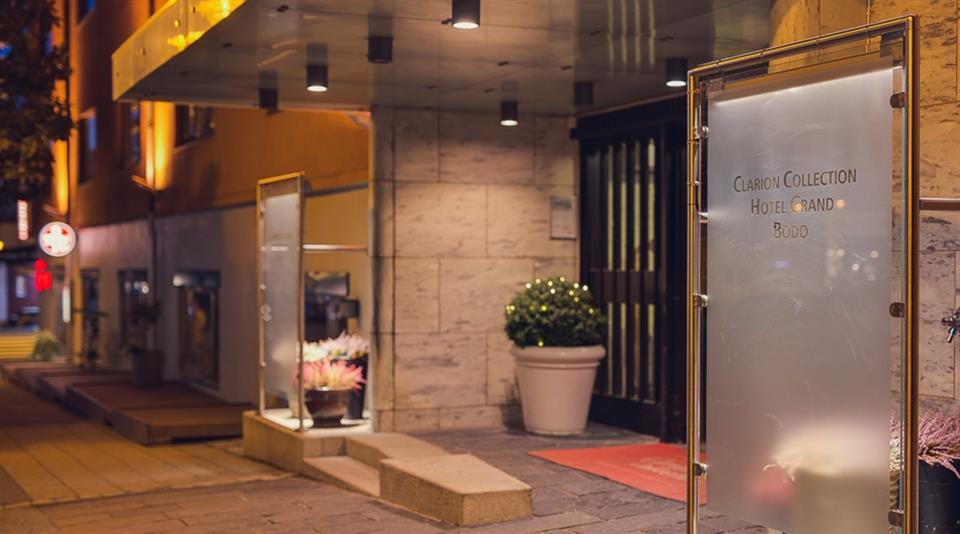 Clarion Collection Hotel Grand Bodø Entré