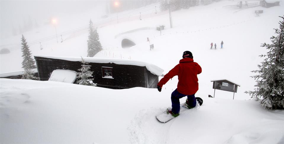 Kvitfjell Hotel AS Snowboard