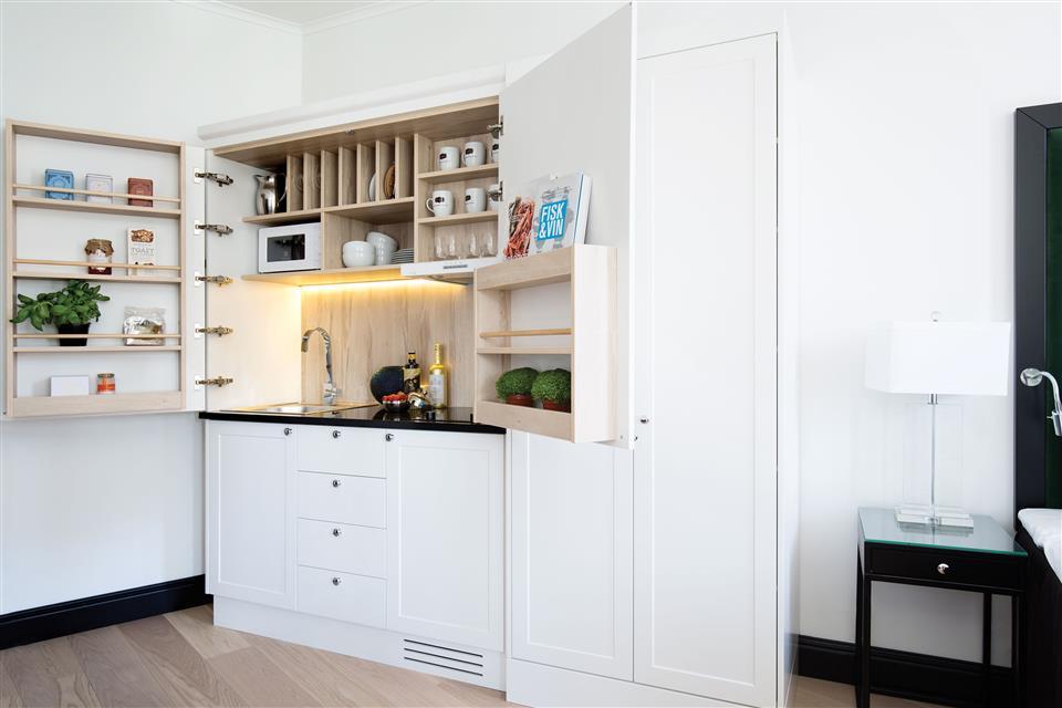 Frogner House Apartments Bygdøy Allé 53 Kök
