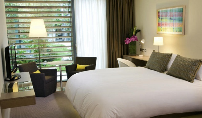 The Gibson Hotel Bedroom