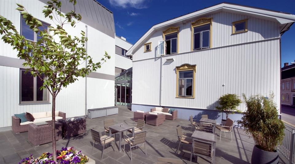 Clarion Collection Hotel Tollboden Uteservering