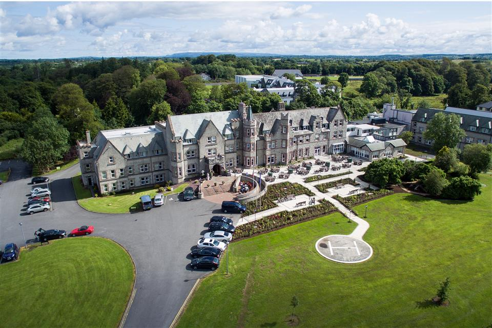 Breaffy House Hotel Ariel View