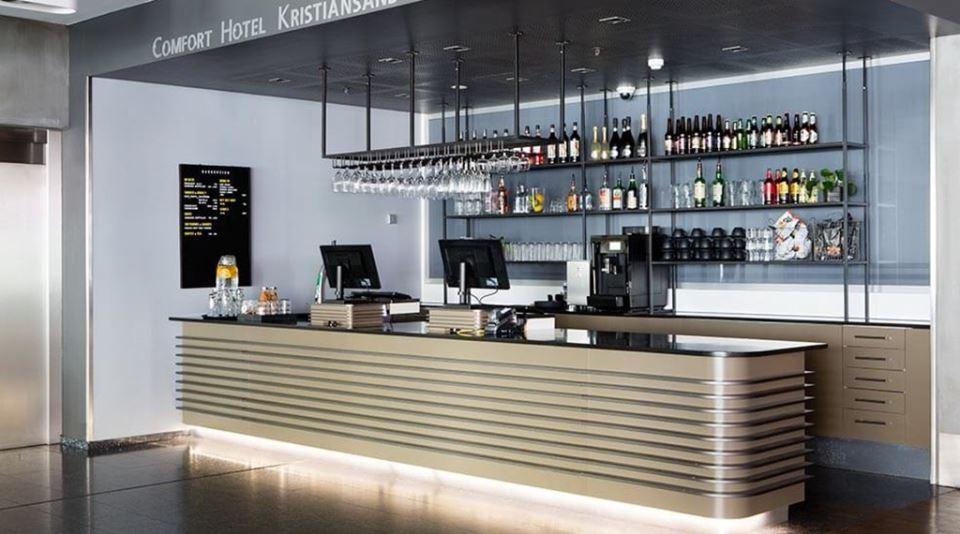 Comfort Hotel Kristiansand Barception