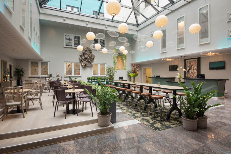 Scandic Neptun Hotell, Bergen Lobby
