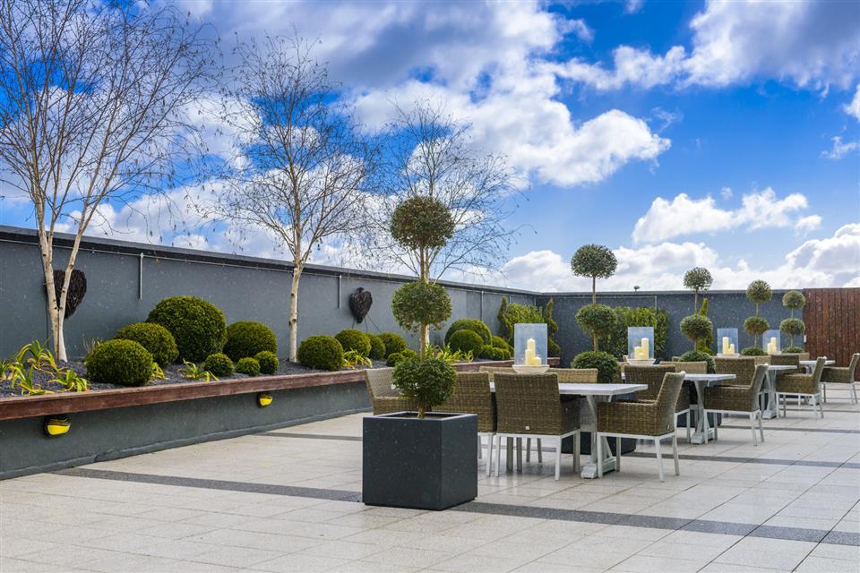 Shearwater Hotel patio