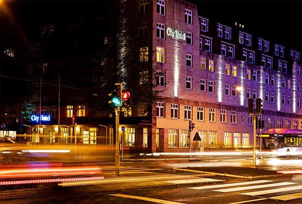 City Hotel Örebro Fasad