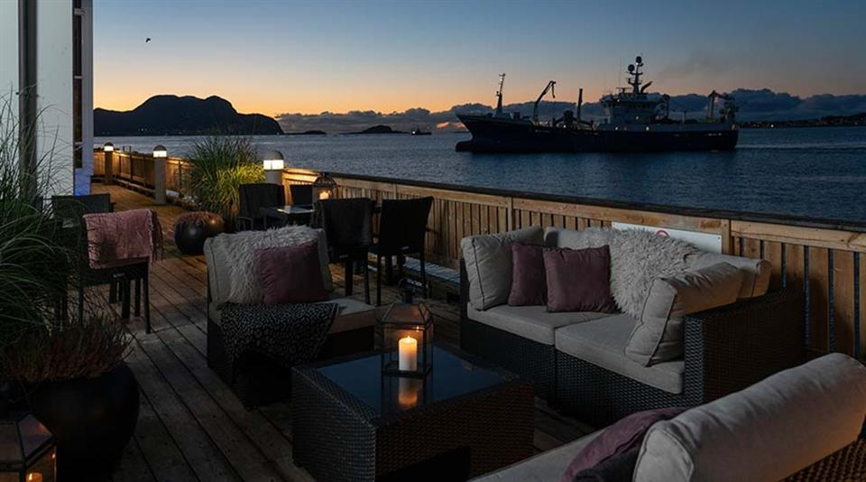Quality Hotel Ålesund Takterass